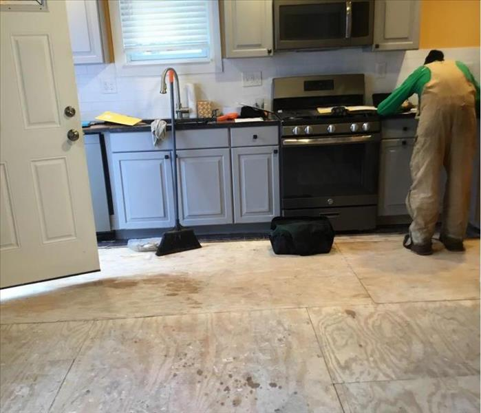 Kitchen Ceiling Collapse In Cleveland Ohio 44113  After