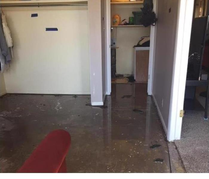 Flooded Room Leaves A Mess