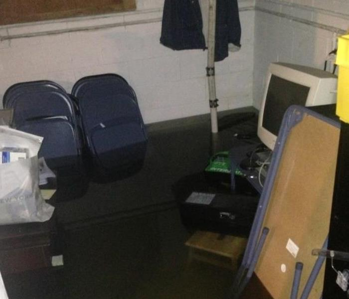 Water Damage Cleveland Heights Basement Flooded