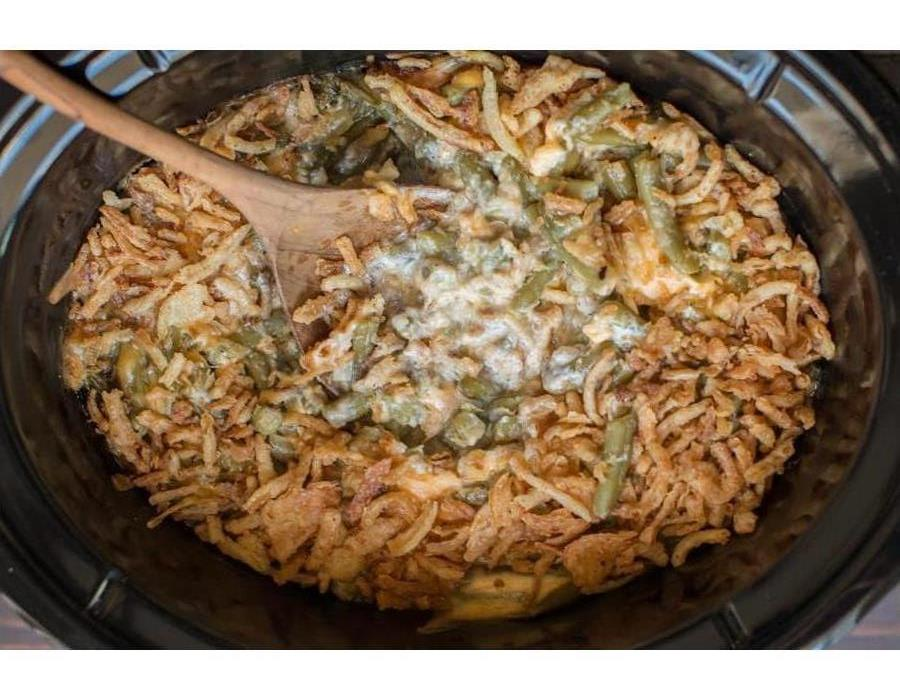 Image of green bean casserole